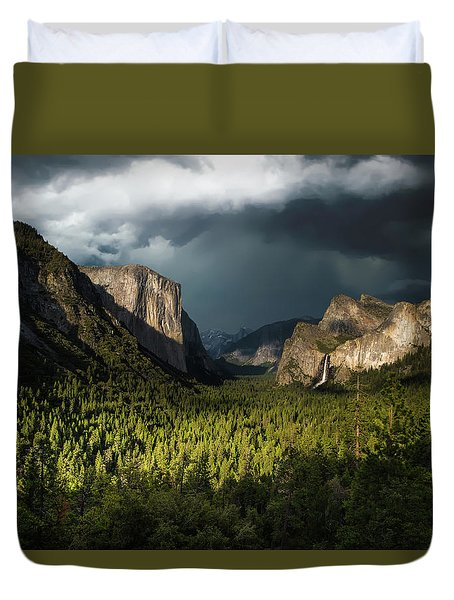 Majestic Yosemite National Park Duvet Cover