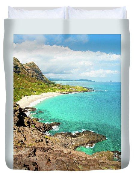 Makapu'u Beach Duvet Cover