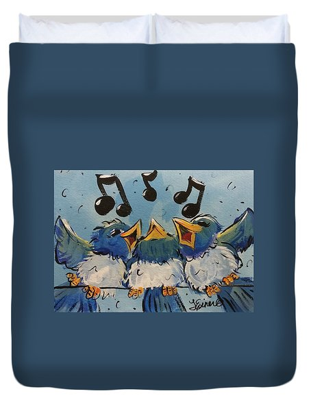 Make A Joyful Noise Duvet Cover