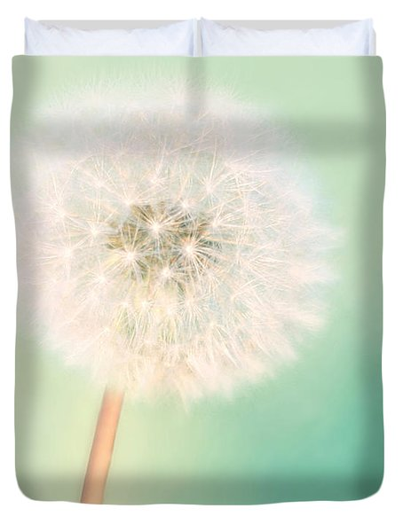 Make A Wish - Large Duvet Cover by Amy Tyler