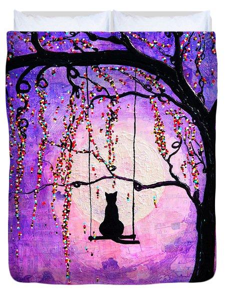 Make A Wish Duvet Cover by Natalie Briney