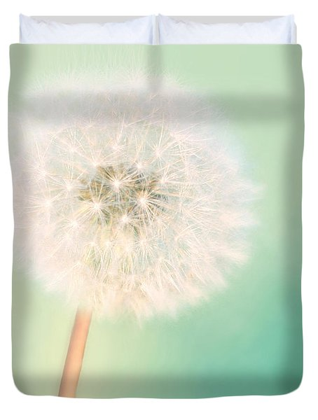 Duvet Cover featuring the photograph Make A Wish - Square Version by Amy Tyler