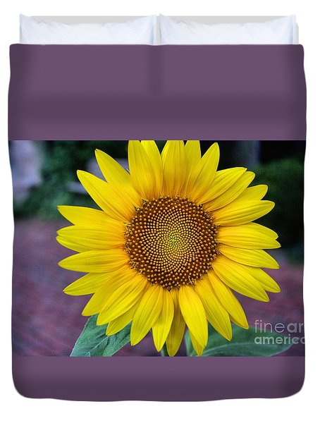 Makes  Me And You Smile Duvet Cover by John S