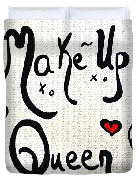 Make-up Queen Duvet Cover