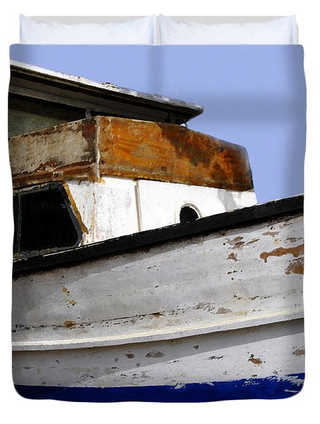 Makeshift Duvet Cover by David Lee Thompson