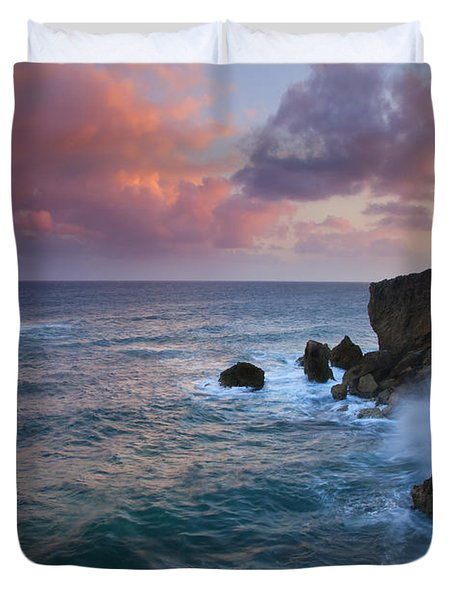 Makewehi Sunset Duvet Cover