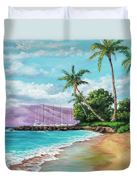Makila Beach Duvet Cover by Darice Machel McGuire