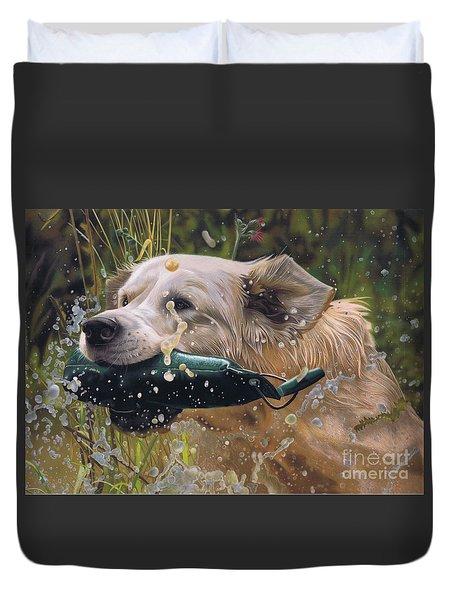 Making A Splash Duvet Cover