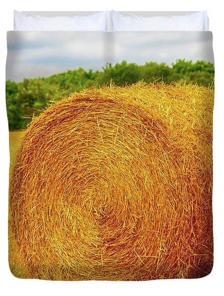 Making Hay Duvet Cover