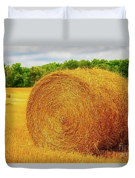 Making Hay Duvet Cover