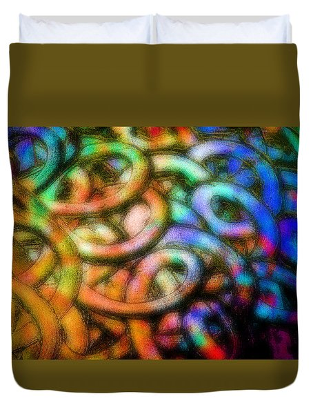 Making Memories Duvet Cover by Gwyn Newcombe