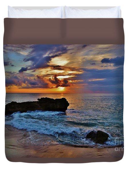 Makua Sunset Duvet Cover