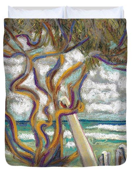 Malaekahana Tree Duvet Cover by Patti Bruce - Printscapes