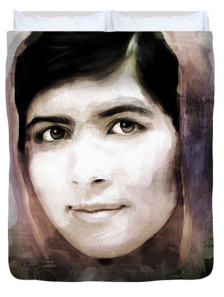 Malala Yousaf Zai 10 Duvet Cover