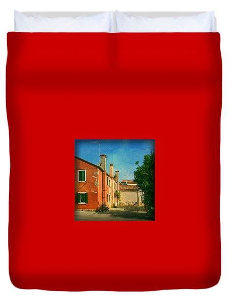 Malamocco Corner No1 Duvet Cover