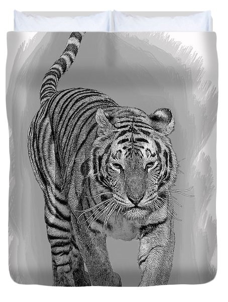 Malaysian Tiger Duvet Cover