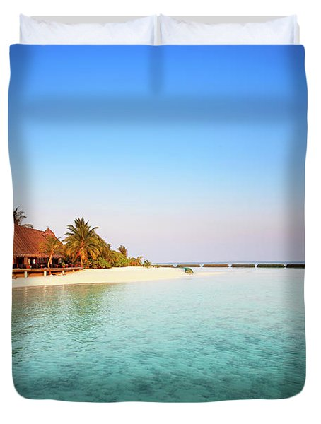 Maldives Morning Duvet Cover