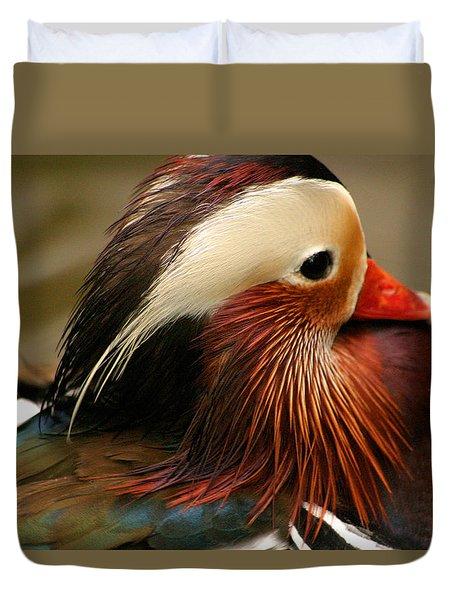 Male Mandarin Duck China Duvet Cover