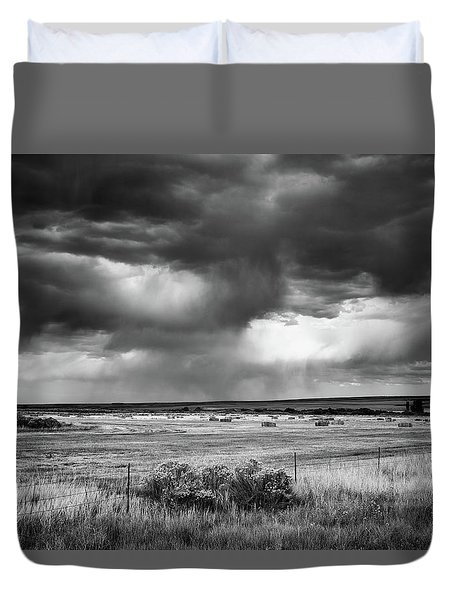 Malheur Storms Clouds Duvet Cover