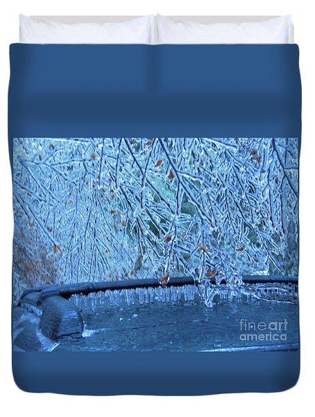 Malibu Icicles Duvet Cover