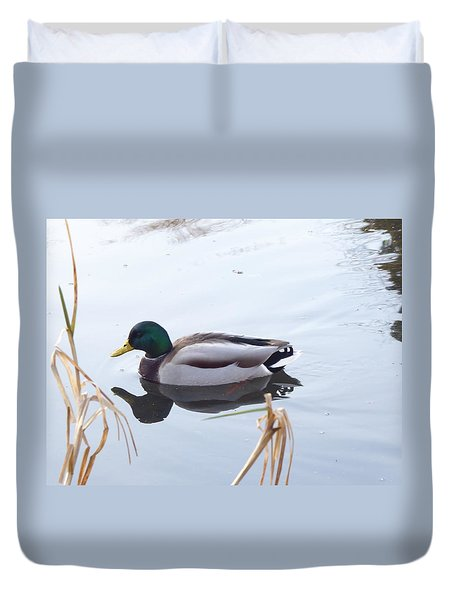 Mallard Reflected Duvet Cover