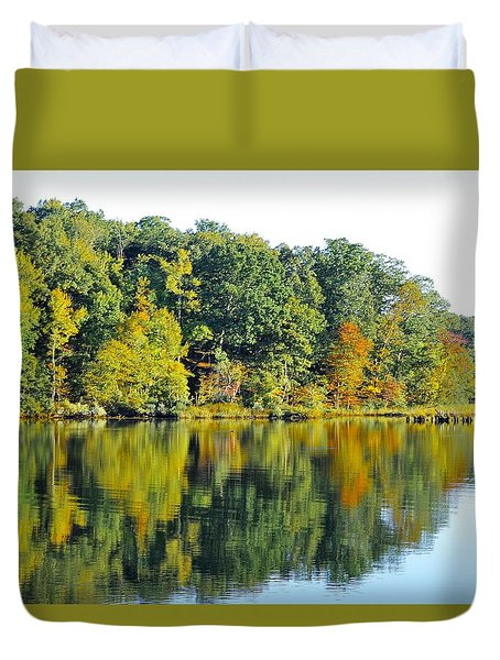 Mallows Bay Duvet Cover