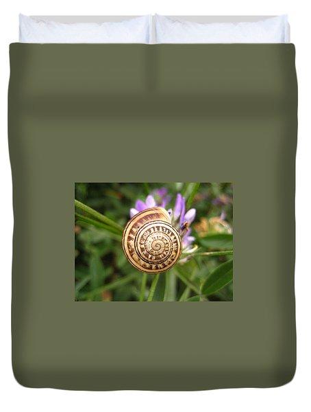 Malta Snail Duvet Cover