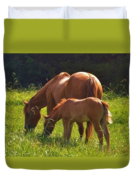 Mama And Baby Duvet Cover