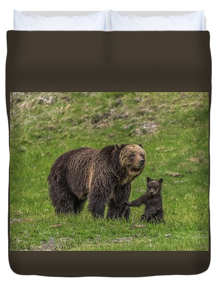 Mama Just Don't Move Duvet Cover