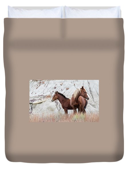 Duvet Cover featuring the photograph Mama by Kelly Marquardt