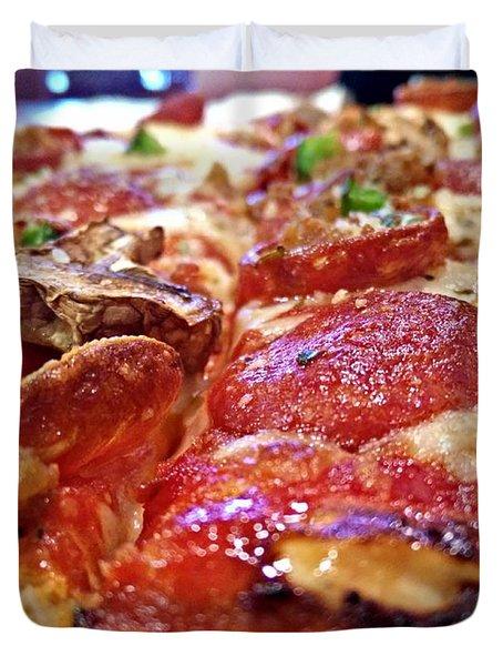 Mama Lido's Pizza Duvet Cover