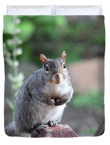 Mama Squirrel Duvet Cover