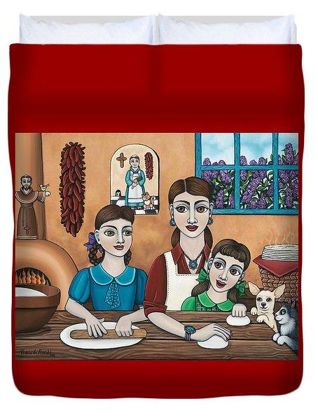 Mamacitas Tortillas Duvet Cover