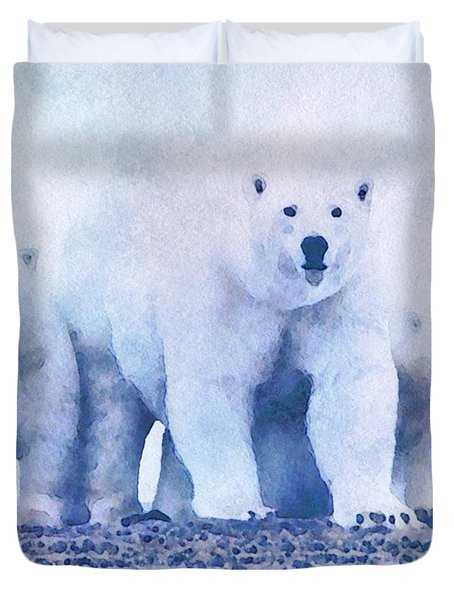 Mamma Bear  Duvet Cover