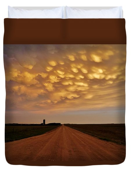Mammatus Road Duvet Cover