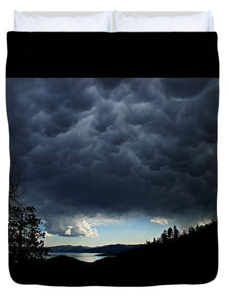 Mammatus Duvet Cover