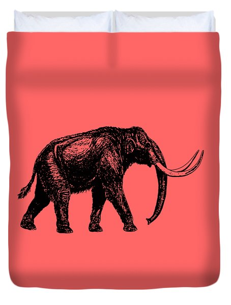 Mammoth Tee Duvet Cover by Edward Fielding