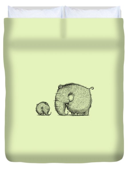 Mammothz Duvet Cover by Andy Catling