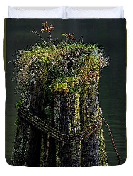 Man Made Island-signed-#2127 Duvet Cover