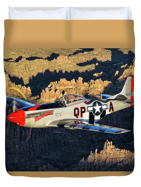 Man O War 1 Duvet Cover