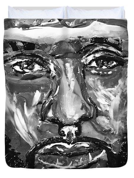 Man Of Steel Duvet Cover