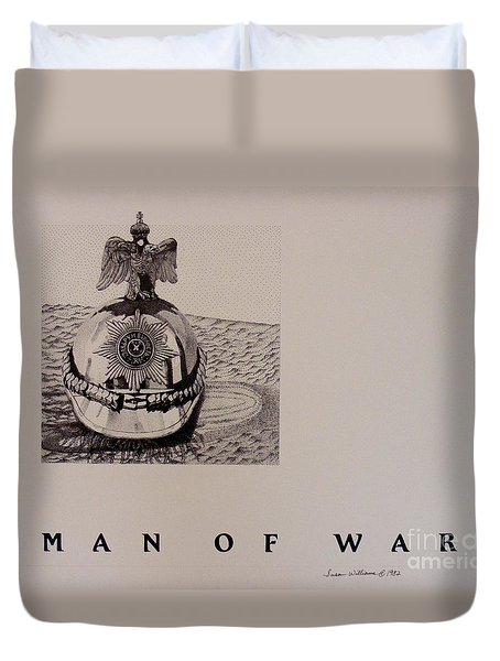 Man Of War Duvet Cover