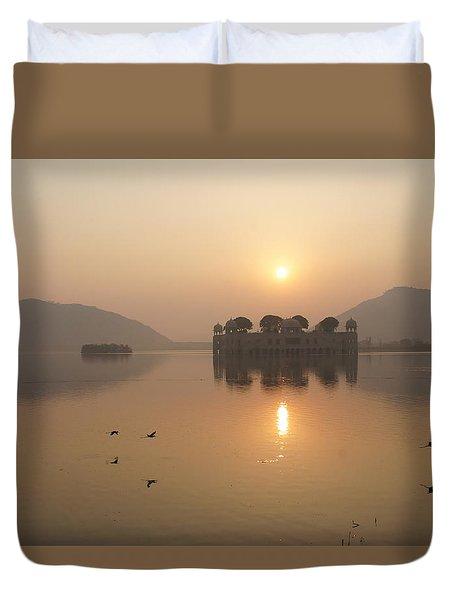 Man Sagar Lake Duvet Cover