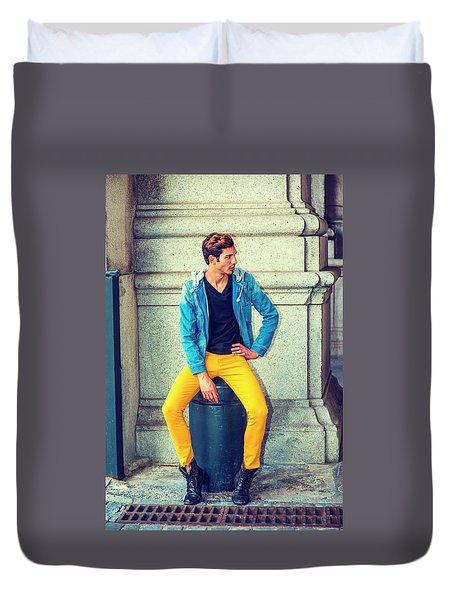 Man Street Fashion Duvet Cover