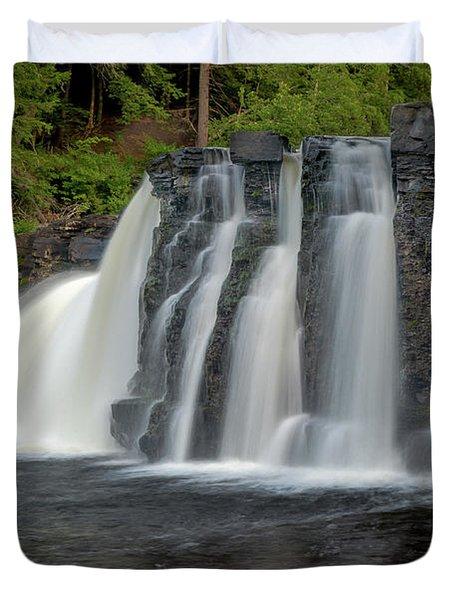 Manabezho Falls Duvet Cover