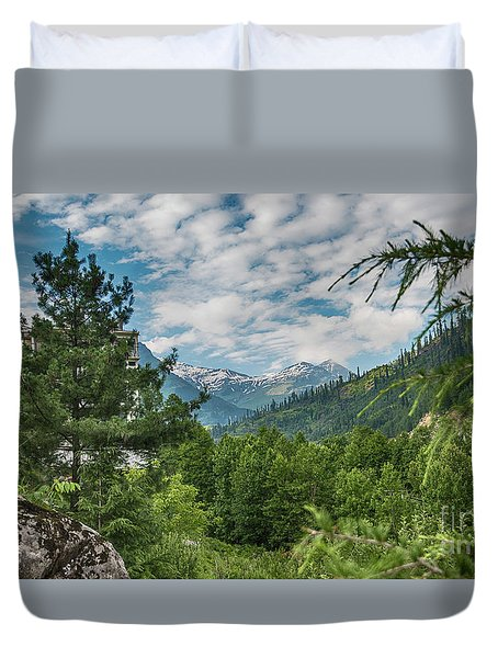 Manali In Summer Duvet Cover