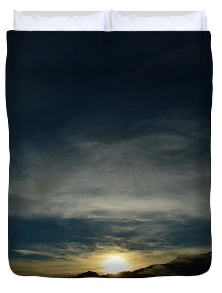 Manastash Sunrise Duvet Cover