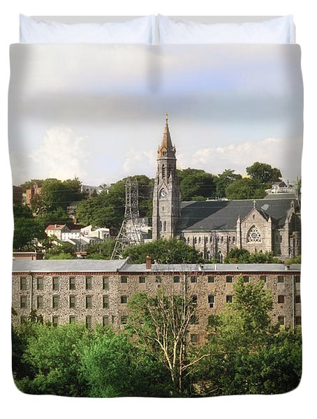 Manayunk Duvet Cover by Bill Cannon