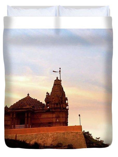 Manbhavan Tekri Duvet Cover