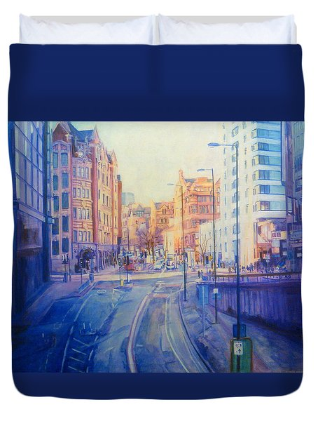 Manchester Light And Shade Duvet Cover